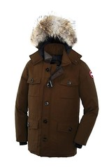 Canada Goose Banff Parka Brown Mens