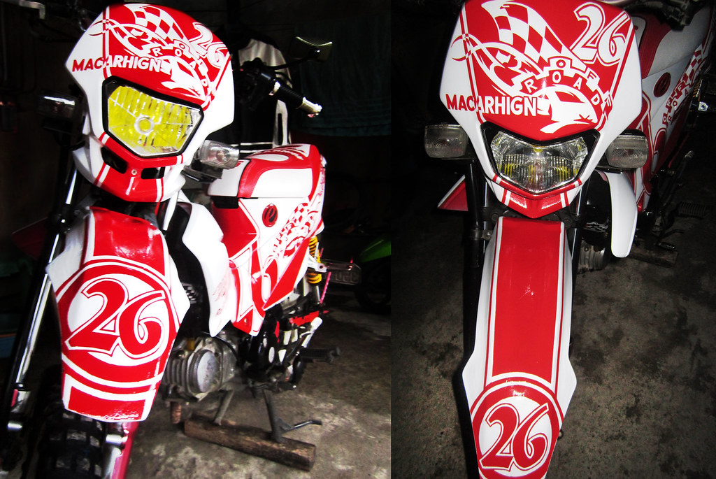Honda XRM125 | my buddy new look (unfinished set-up modifica