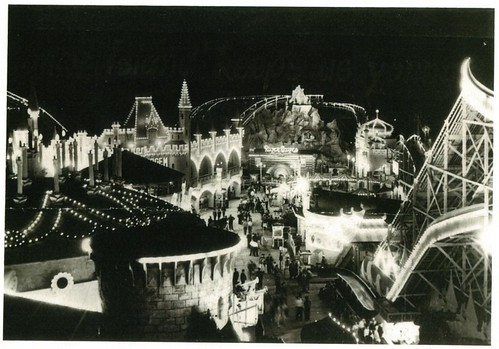 Luna Park Melbourne 1955