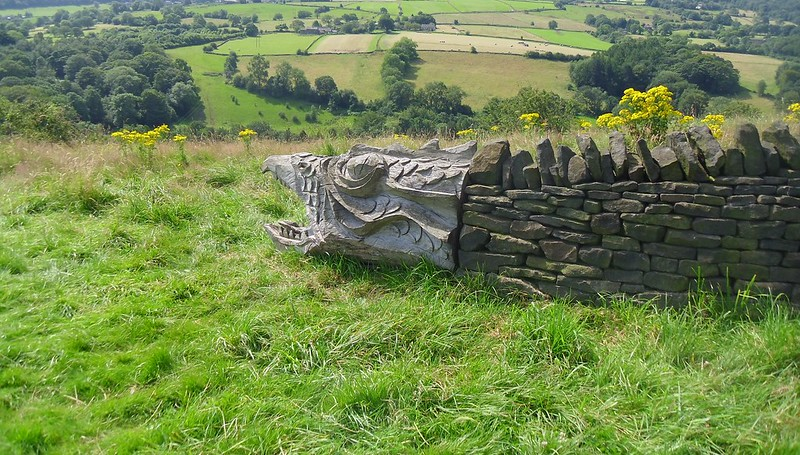 The Wantley Dragon.
