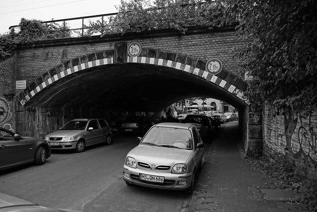 Bahnunterführung Staufenbergstraße, Münster in Westfalen