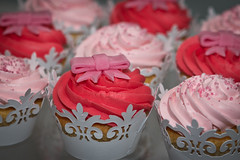 White Mud with Buttercream Icing and bows