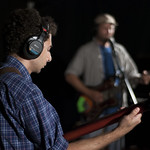 Fri, 20/07/2012 - 7:16pm - Here We Go Magic performs live on 7.20.12 in WFUV's studio A. Photo by Andrew Arne