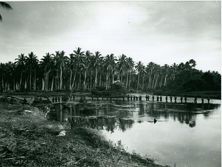 Marines Wade Through Lagoon, Guadalcanal, August 1942   by Archives Branch, USMC History Division