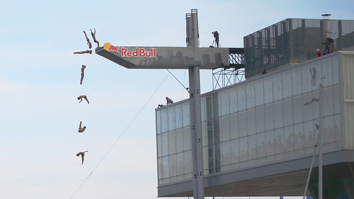 Red Bull Cliff Diving Boston 2012 | by madprime