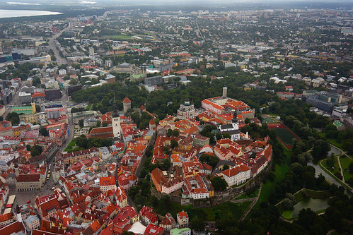Toompea from Helicopter | by tarmo888