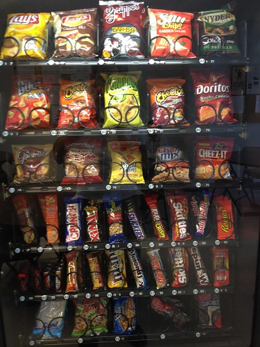 Snack machine at work | by Zepfanman.com