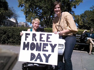 Donnie's Free Money Day, Washington D.C., USA