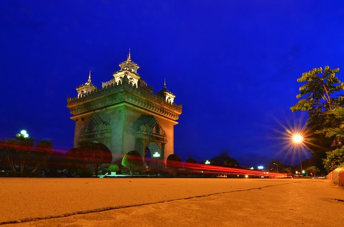 Patuxai At Night | by amri nolastname
