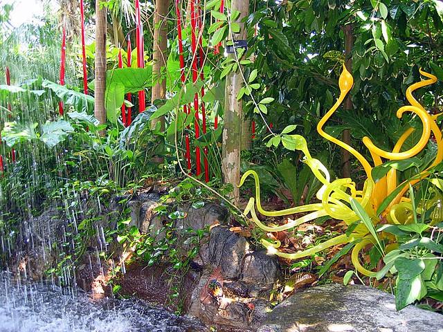 Chihuly At The St Louis Botanical Gardens Amanda Flickr