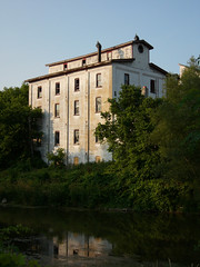 Mill from across the water