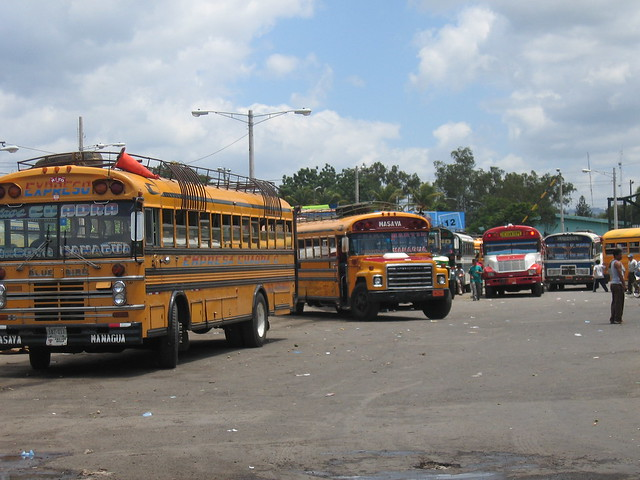 buses in nicaragua