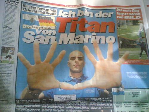 Ergebnis Deutschland San Marino