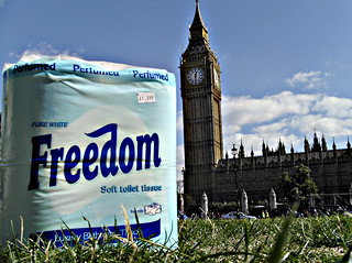 FREEDOM IS A TOILET TISSUE | by Mister Higgs
