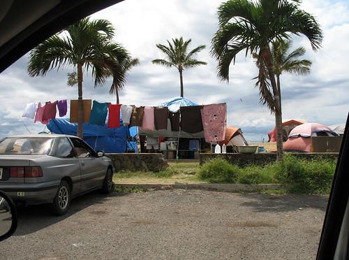 over 3,000 homeless live along west oahu beaches