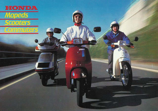 Honda Mopeds, Scooters, Commuters