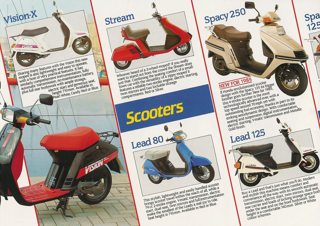 Honda Mopeds, Scooters, Commuters | Page 3 Scooters | gingerbeardman