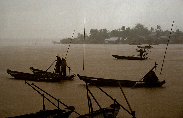 Boats on Yellow River
