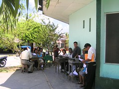 Public writers Iquitos...dedicace a Cyrille | by pierre pouliquin