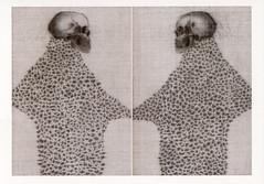 croxcard 30 johan de wilde (2006) UNTIL DEATH DO US PART<br /> tekening 42x29,7cm