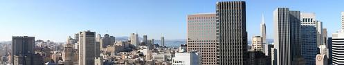 San Francisco skyline panorama | by petea