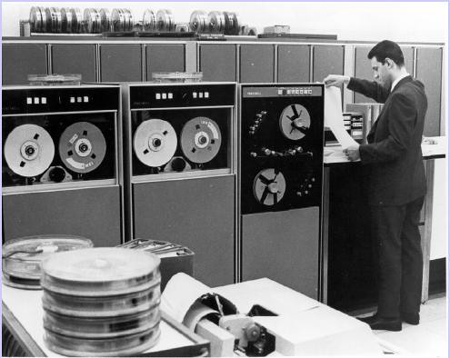 Computer room NLM in 1960