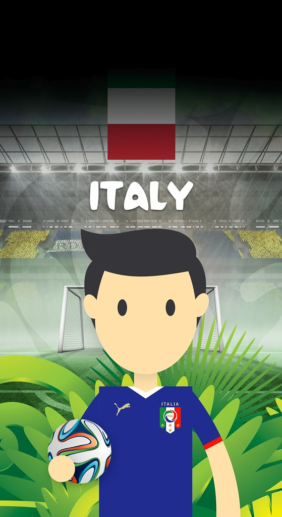 Team Italy Football World Cup 2014 Iphone X Wallpaper Flickr