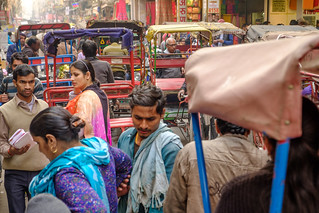 Hope You're Not in a Hurry   Old Delhi, India   by t linn
