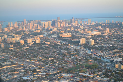 Aerial view of Miami | by mplstodd