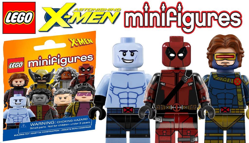Amazing Custom Lego X Men Minifigures Series !!! | www youtu… | Flickr