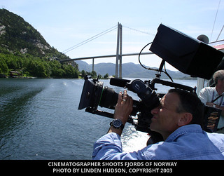 CINE PHOTOGRAPHER SHOOTS NORWAY FJORDS   by lindenhud1