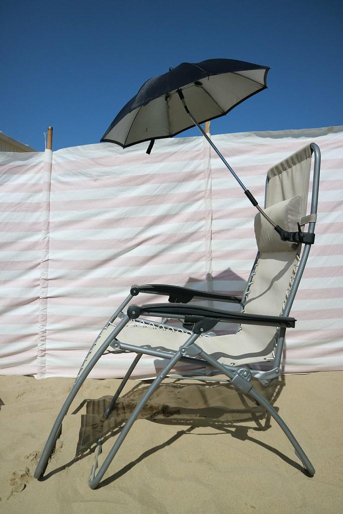 Strandstoel En Parasol.Parasol Strandstoel Heidi Vandenbussche Flickr
