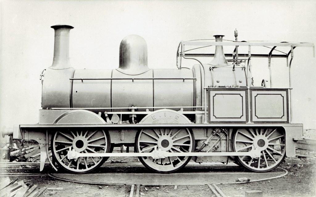India Railways - East Indian Railways 0-6-0 steam locomoti