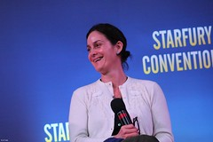 Carrie-Anne Moss | Jessica Jones panel