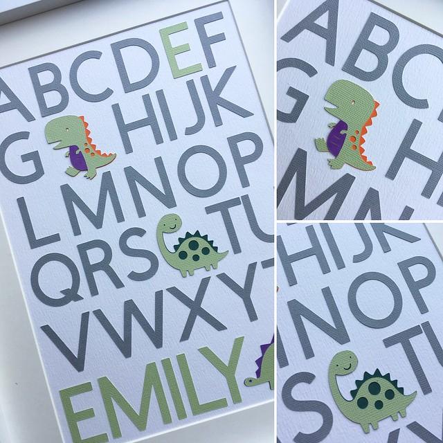 ABC Alphabet Word Art