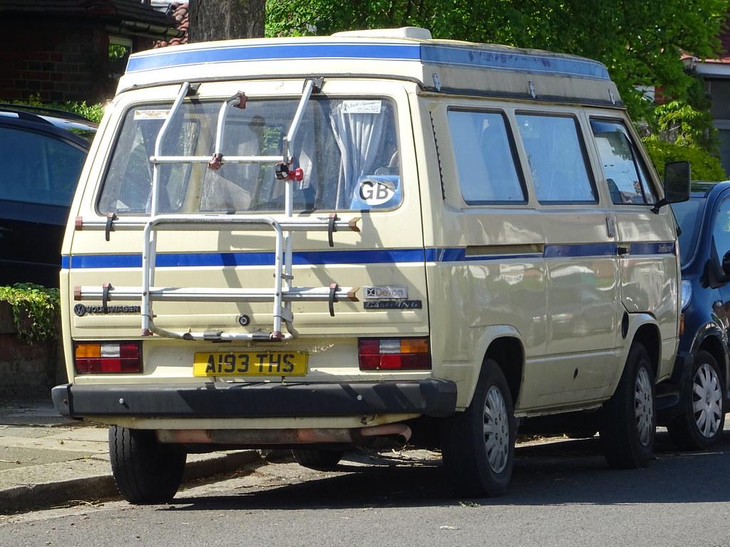 1984 Volkswagen Caravelle Camper Van | Glasgow, Scotland reg… | Flickr