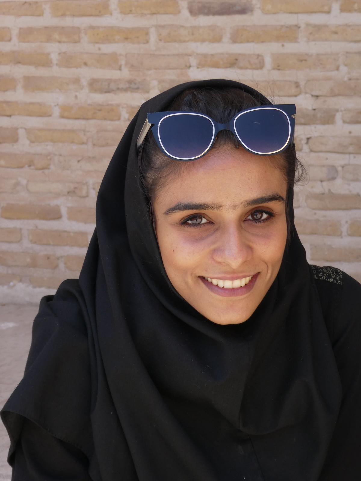 Iranische Schönheit in Yazd