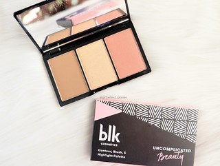 BLK Cosmetics Contour, Blush & Highlight Flushed Palette2 | by <Nikki P.>