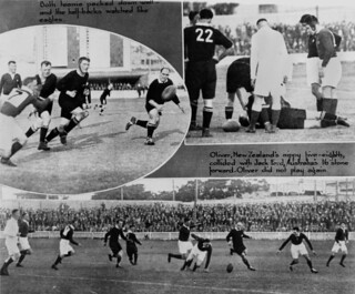 Australia beats New Zealand for the Rugby Union Ashes in Brisbane, July 1929