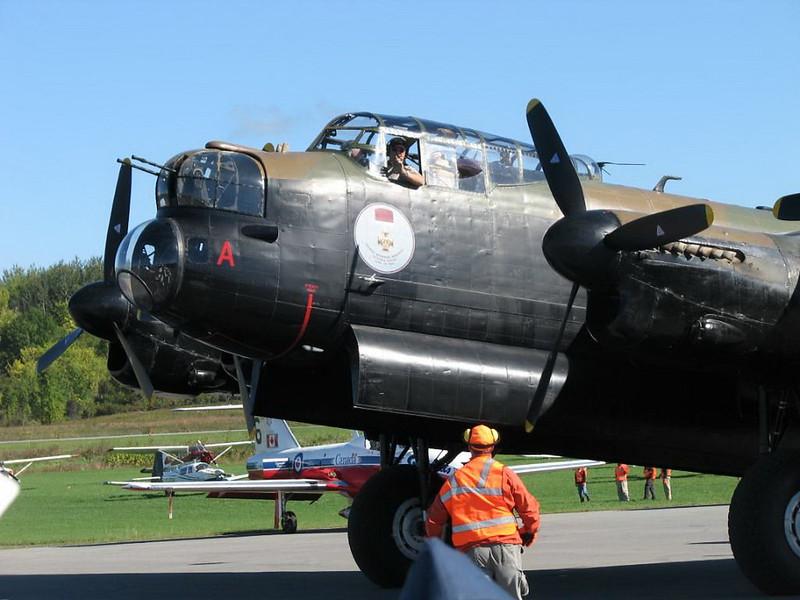 Lancaster Bomber VRA 4