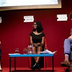 Agnes Torok & Chimwemwe Undi   Two fantastic spoken word performers speak with feeling  © Helen Jones