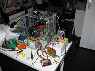 Beaglebone powered 3D printer