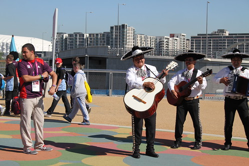Olympic Park musicians | by tennis buzz