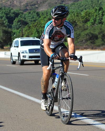 road male bicycle tattoo race cyclist jersey athlete calf coronadobrewing girodisandiego