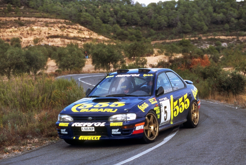 Subaru Impreza WRC - Catalunya 1995 | Sebastián Torres | Flickr
