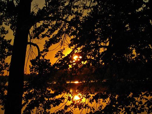 lake minnesota sunrise lakecowdry
