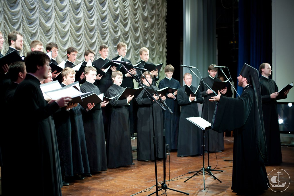 19 сентября 2012, Хор духовной академии на Фестивале русской духовной музыки в Великом Новгороде