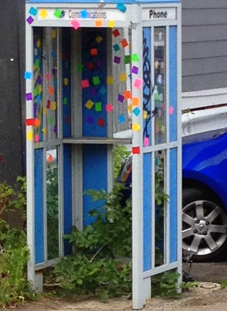 Observatory Hill - Phone booth, Concord Avenue, Cambridge, MA