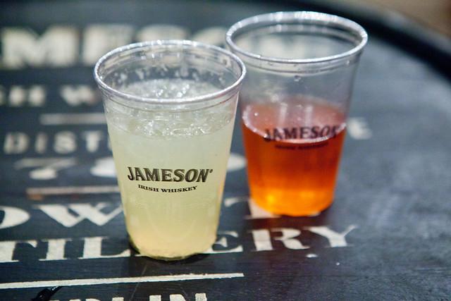 Jameson Irish Whiskey cocktails: Jameson Black Star & Jameson Grand Royal Buck