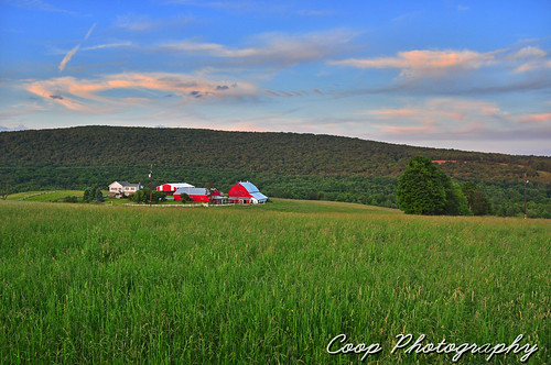 city sunset red green field june barn forest photography golden nikon dale pennsylvania union north 15 center east pa hour coop 2012 northeastern herrick d90